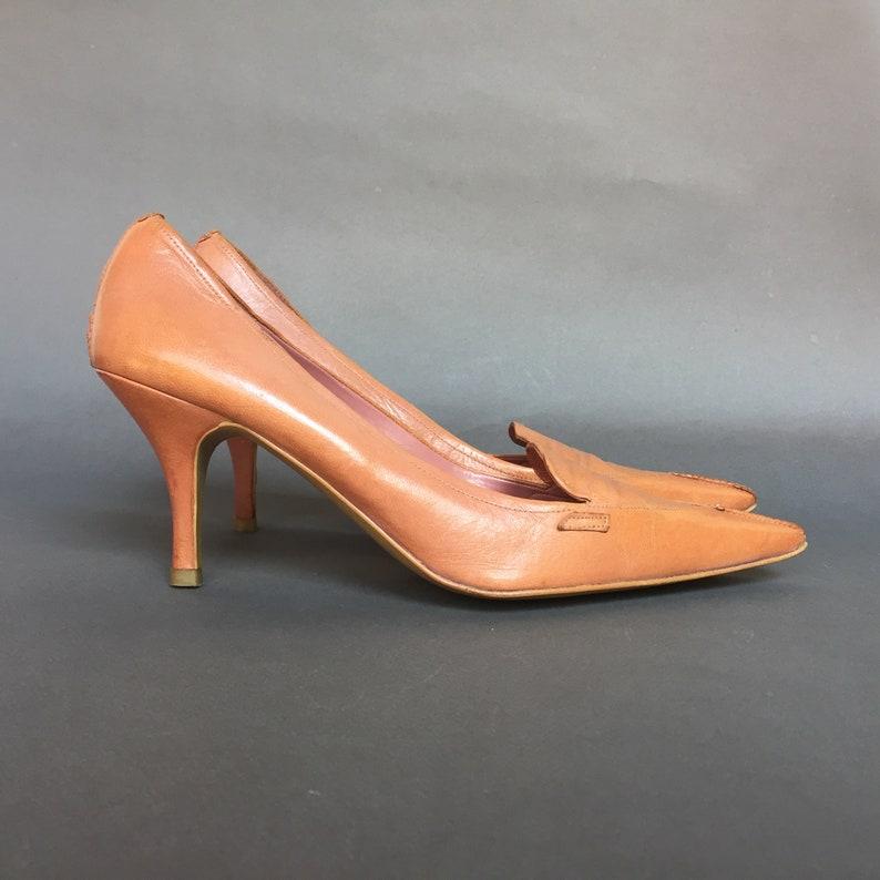 ded9978f5da 41 EU 10 US 8 UK Faded Nude Pink Zara Leather pumps elegant