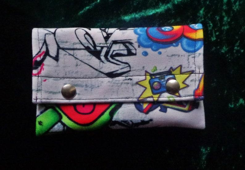 Tobacco bag Belt bag tobacco bag graffiti Colorful