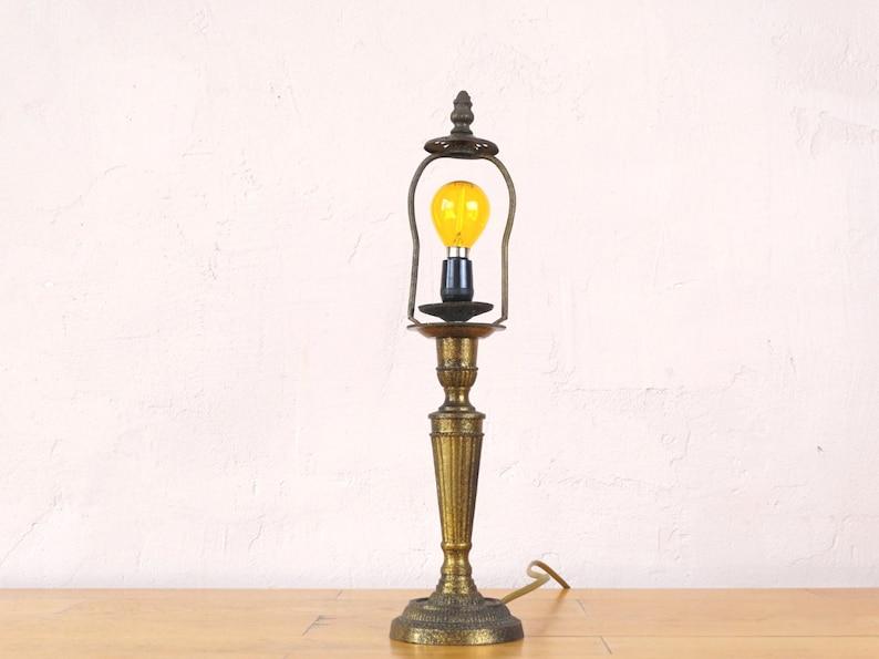 ChevetBureauTableAncien En Laiton LaitonDe D'éclairageVictorienRustique Lampe dCeoQxWBr