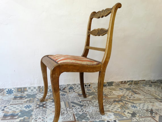 Antique Wooden Chair Old Chair Wooden Carved Chair Dining Etsy