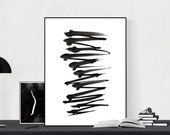 Digital Print 30'' Minimalist Abstract Instant Download Printable Wall Art Poster