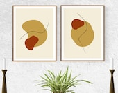 Digital Print DUO 40'' // DM For Customization // Printable Wall Art