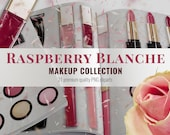 Raspberry Blanche Makeup Cliparts / Realistic Clipart / Summer Makeup Clipart