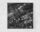 Digital Print 29'' // Black Art, Printable Wall Art, Modern Decor, Minimalist Art, Abstract Art, Statement Art