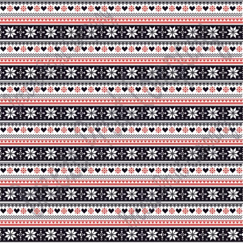 736b0e2c134815 Patterned Vinyl Black red and white Christmas pattern craft vinyl ...