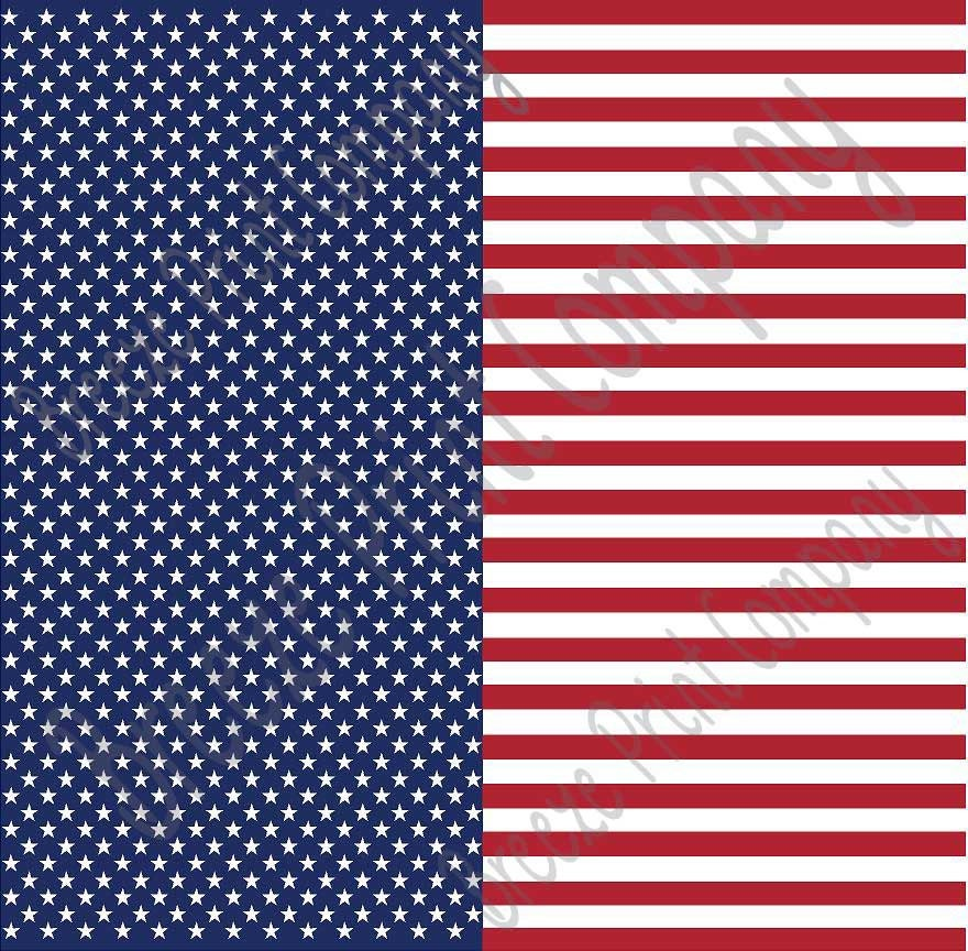 e1b6f72f46a Patterned Vinyl Flag stars and stripes craft vinyl sheet