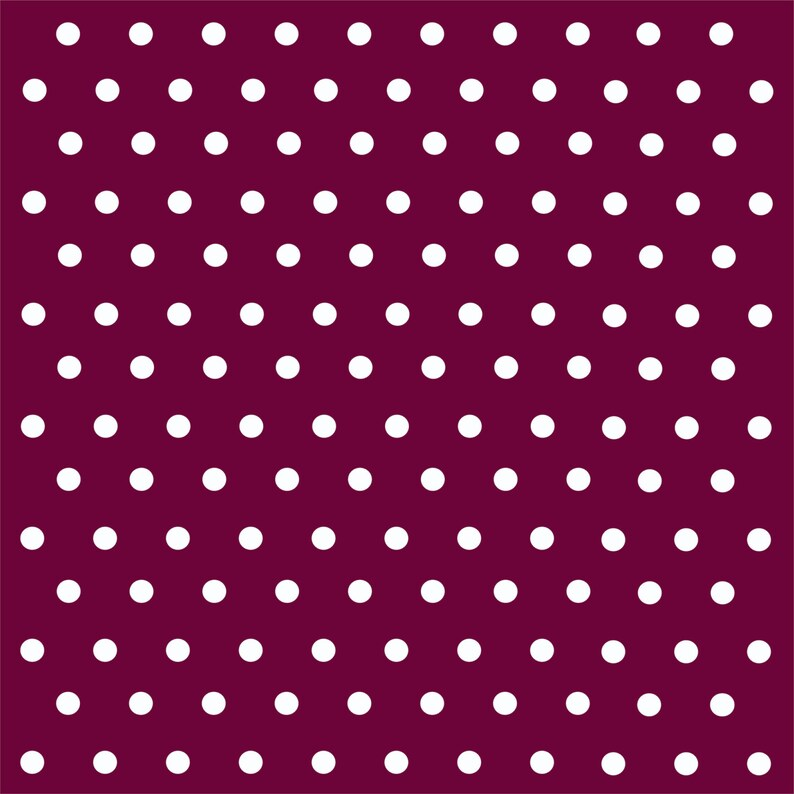 cf03fa1c894 Patterned Vinyl Maroon with white polka dots craft vinyl