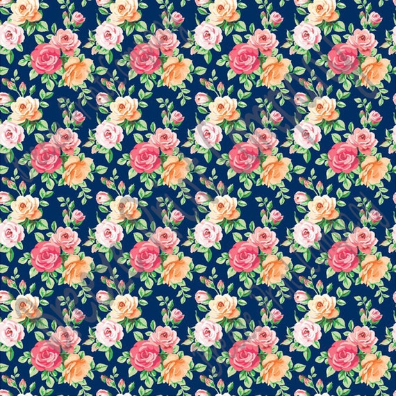 Floral Patterned Vinyl Sheets Rose Pattern Vinyl Sheet Htv