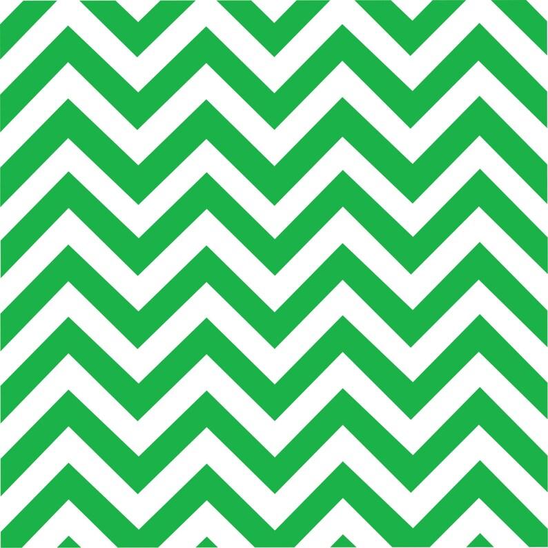 9899fa694068e3 Patterned Vinyl Green chevron craft vinyl sheet HTV or