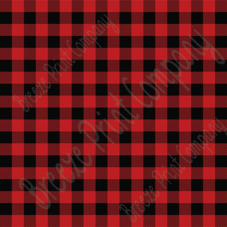 b94f5b36a21c52 Buffalo Plaid Pattern HTV or adhesive vinyl Red and black