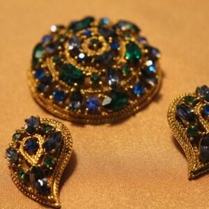Vintage Designer ESEMCO Aquamarine and Pink Sapphire Gemstones Amethyst White Gold Ring Rings Size 5 Amethyst 10k White Gold