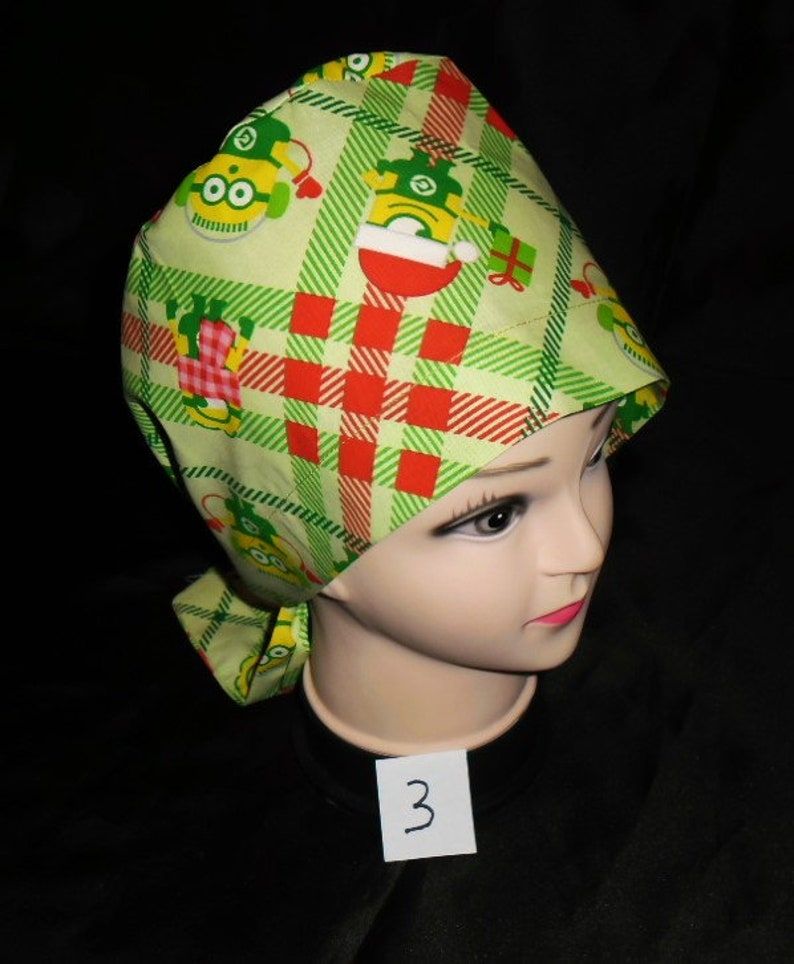 4295f8eed61 Handmade From Minions Fabric Pediatric Nurses Scrubs Hats   Etsy