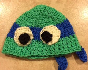 Crochet ninja turtle hats SALE!