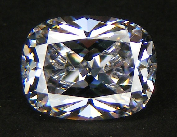 8 ct Round World/'s Best Cubic Zirconia Top Russian Quality 13 mm