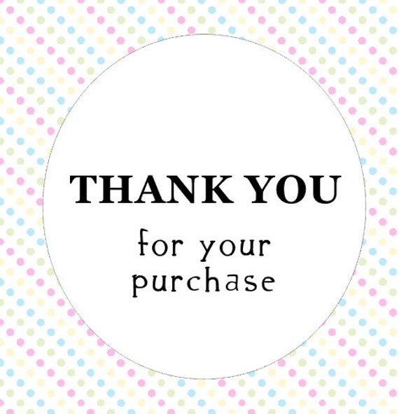 50 thank you for your purchase round stickers sheet text label food ebay crafts handmade uk united kingdom ac20 from etsyanniscrafts on etsy studio