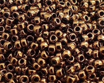 Toho Seed Beads 15/0 Bronze (221) 5g/10g/20g/30g