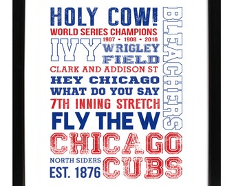 Chicago Cubs Subway Art