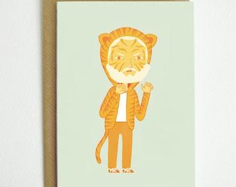 Tiger Man Card
