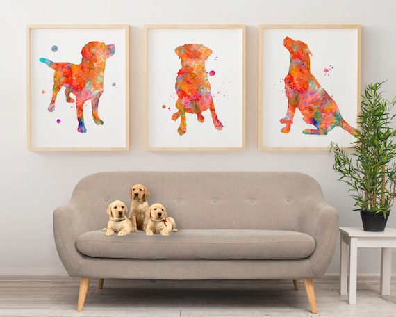 10 Size Options FOX ORANGE BRIGHT COLOUR ANIMAL ILLUSTRATION POP ART PRINT Poster Modern Home Decor Room Interior Design Wall Picture A4 A3 A2