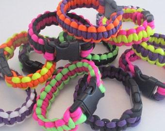 Paracord Bracelets Custom Made To Order