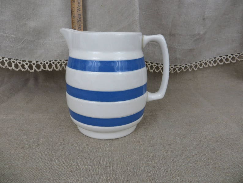 Pottery & China Reasonable Vintage Retro Jug Staffordshire Online Discount Art Pottery