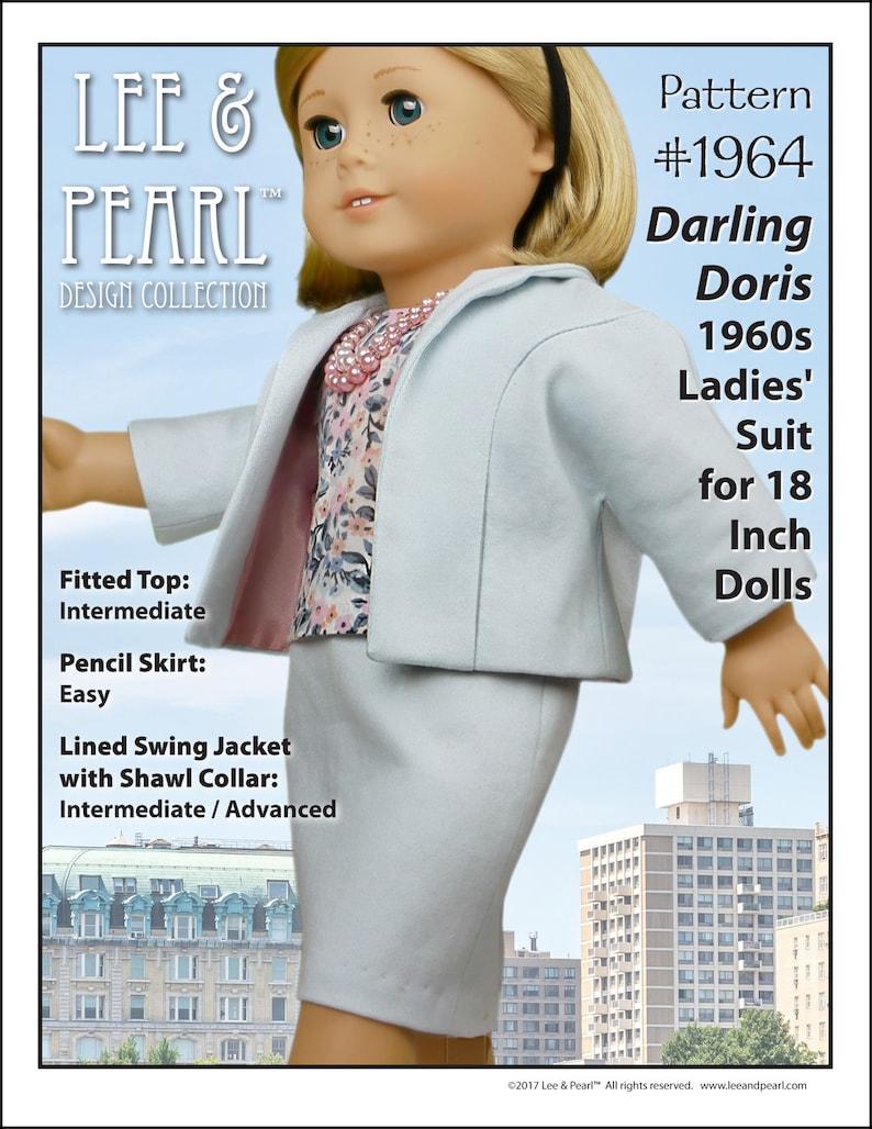 L&P 1964: Darling Doris 1960s Ladies' Suit Pattern for 18 image 0