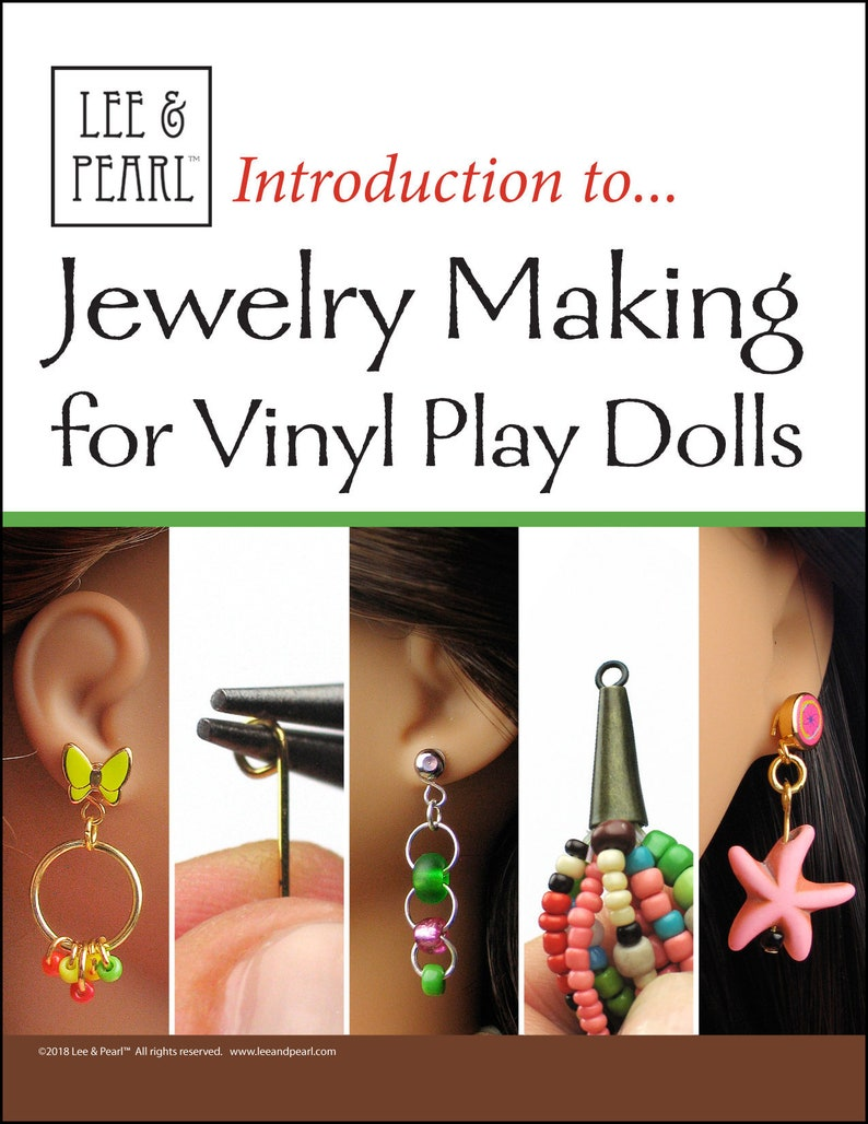 L&P Craft Guide  Introduction to Jewelry Making for Vinyl image 0