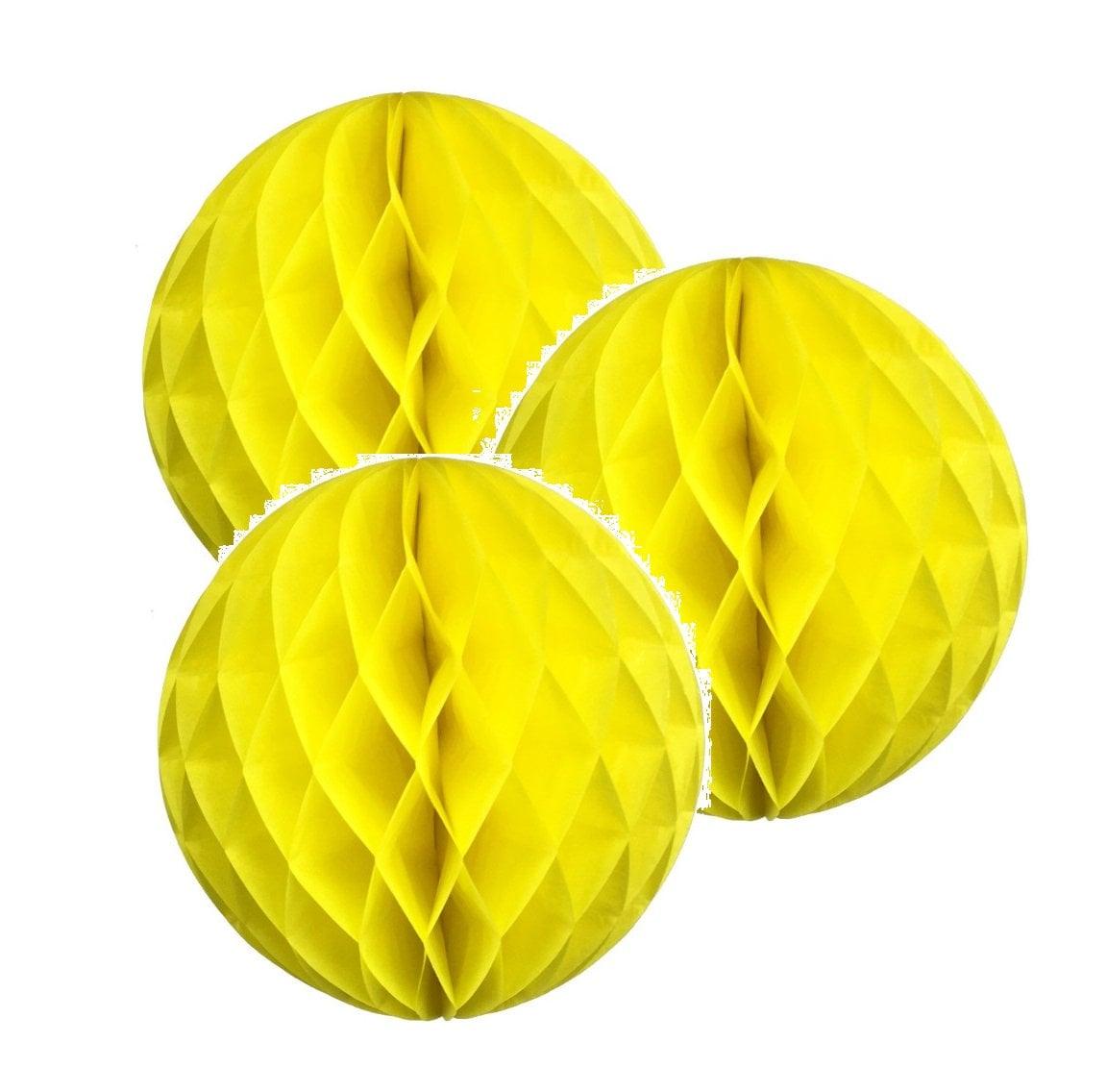 "20Colors 4/"" 8/"" 12/"" HoneyComb Tissue Paper Ball Lantern Pom Poms Wedding Birthday"