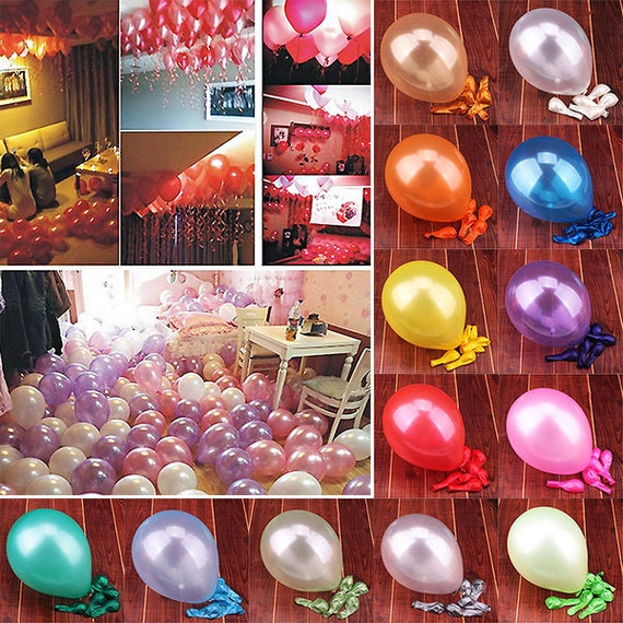 "10Pcs 12/"" Latex Rubber Balloons Wedding Birthday 2020 New Year Eve Party Decor"