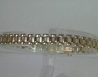 14K Solid Gold Bracelet Italian Style