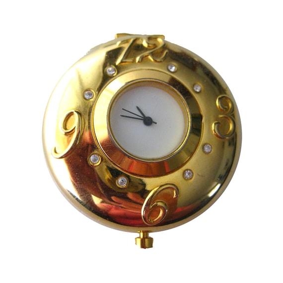 Estee Lauder Clock Compact Vintage , Vintage Powde