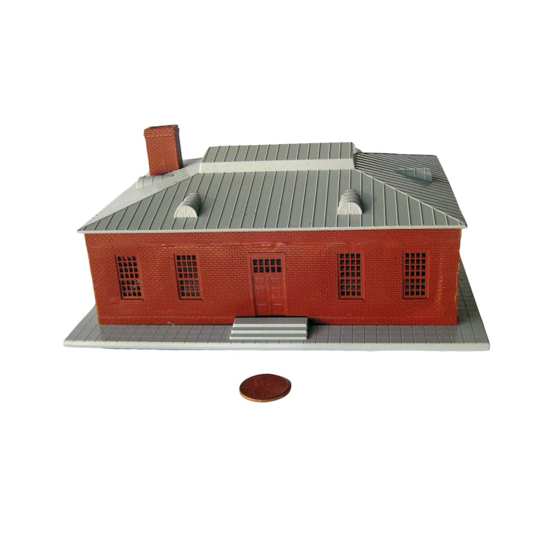 Model Railroad Building For Model Train Display or Miniature Town, Vintage  Toys, RR Building, Railroad Collector, Miniature Buildings Trains