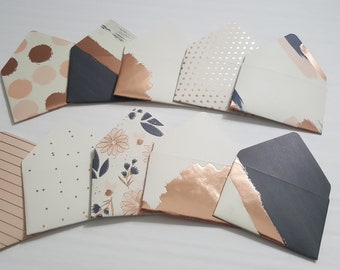 Blush Gift Card Envelopes and/or Gift Card Holders