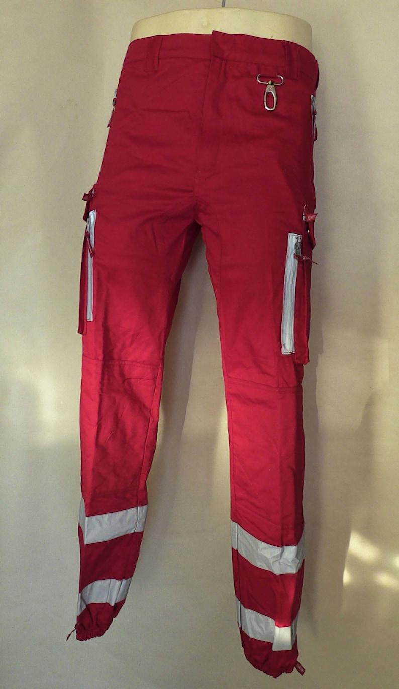 Motorcycle Trousers Ex Italian Red Cross size 36 91cm waist