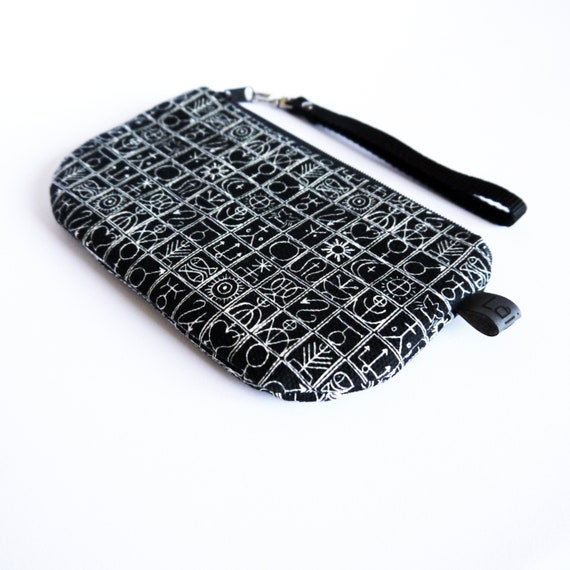 Black and white grey case, TRULLI Print