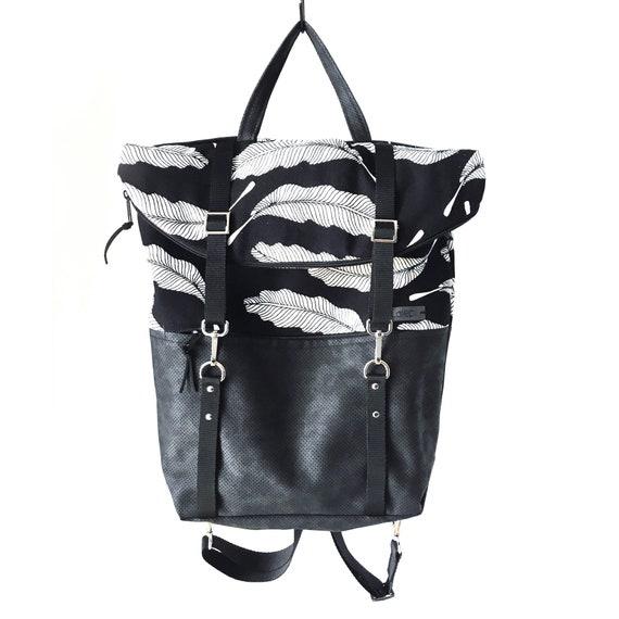 3 in 1 backpack, ligh backpack, canvas backpack, urban rucksack