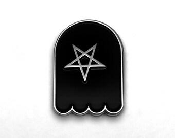 Pentacle Ghost Pin