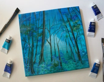 "Original Painting | ""Hidden Fortress"""