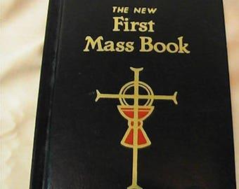 Vintage 1997 The New First Mass Book, St. Joseph Edition, Catholic Mass Book