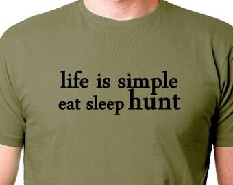 3786122b91 Funny Outdoors Men's Hunting Shirt, Deer Hunt T Shirt Men's Funny Hunter  Sayings,T Shirt, Tee, hunter Tee Shirts,Funny Shirts, Deer Hunting
