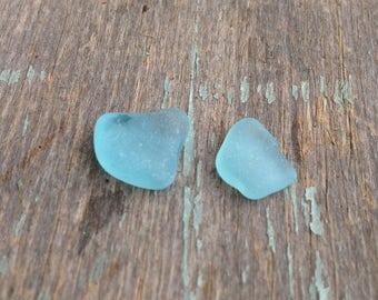 Aqua Blue Beach Glass