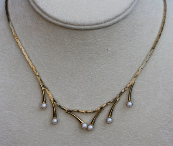 Exquisite Vintage Hobe Pearl Choker