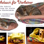 Cuddly bag for four-legged sewing instructions