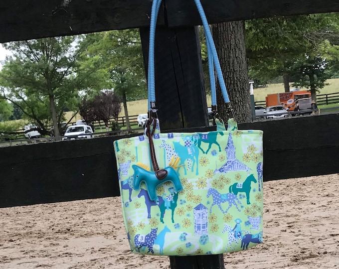 Lilly Pulitzer Equestrian Horse Handbag Purse