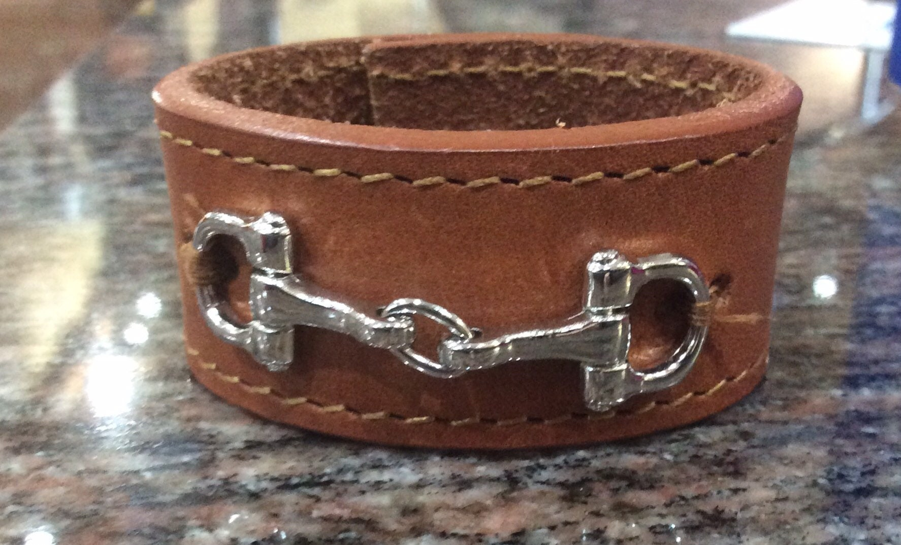 Leather Napkin Rings Equestrian Horse Bit and Bridle Hostess Horse ...