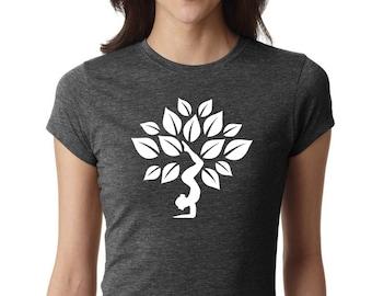 Yoga Shirt, Yoga Lotus shirt, Yoga Top, Yoga Tank, yoga tshirt, Om Shirt, Namaste Shirt, Meditation Shirt, Ladies Shirt, fitness shirt, #LS2