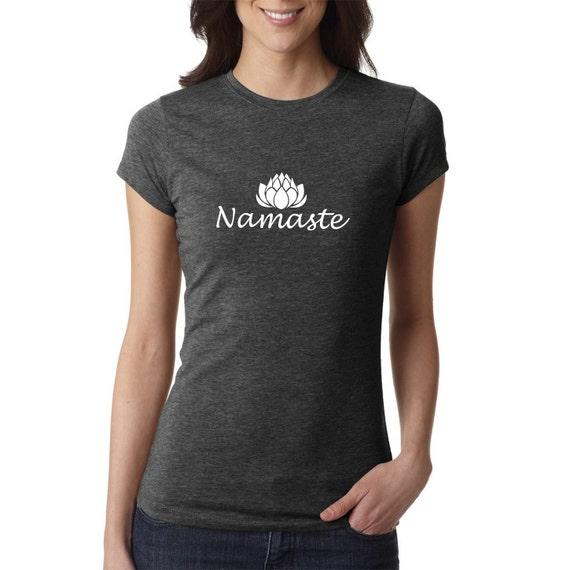 Yoga Shirt Namaste Shirt Yoga Top Yoga Tank Om Shirt