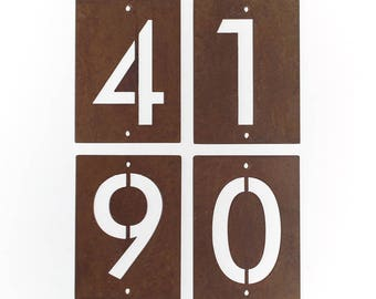 Steel Address Number (Free Shipping)