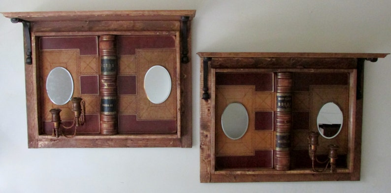 Deed Book Cover Framed Shelves image 0