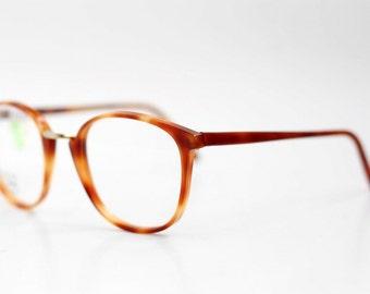 41b202de50e2 NOS Vintage JEAN LAFONT Paris unisex eyeglasses   Nerd Hipster Glasses    Tortoise Spectacle Frames   made in France 70s 80s